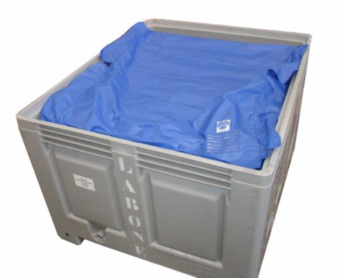 Rigid Container with Dust Sheet